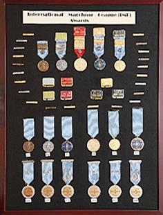 IML認証メダル